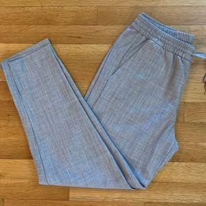 GAP Gray Elastic Waist Dress Pants/Trousers size 8